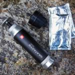 Pocketfilter mit Flaschenadapter Aktivkohle